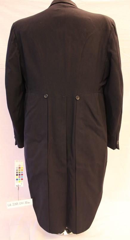 Blue Tuxedo Jacket (back)