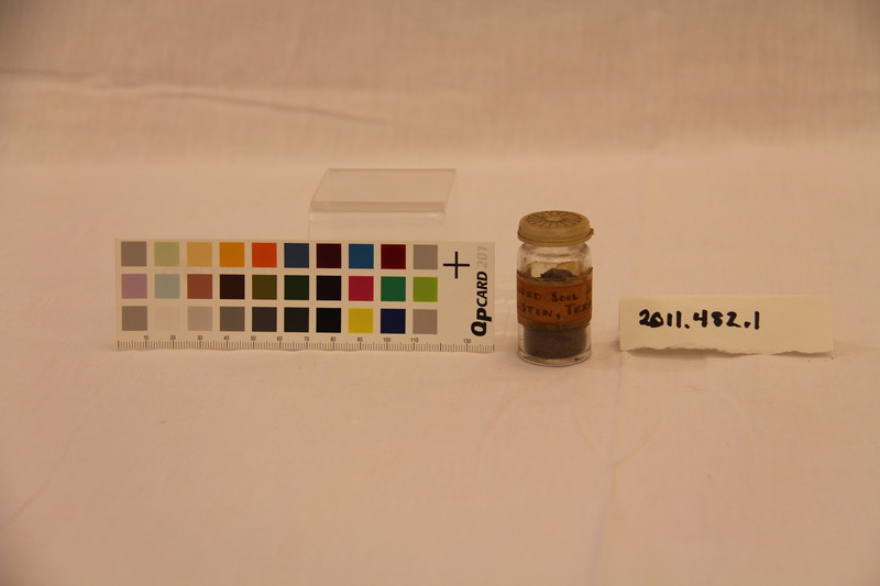 "Vial of ""Sacred Soil from Austin, Texas"