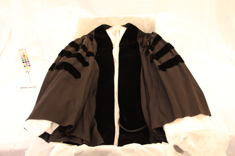 Carl A. Fehr's Doctoral Robe