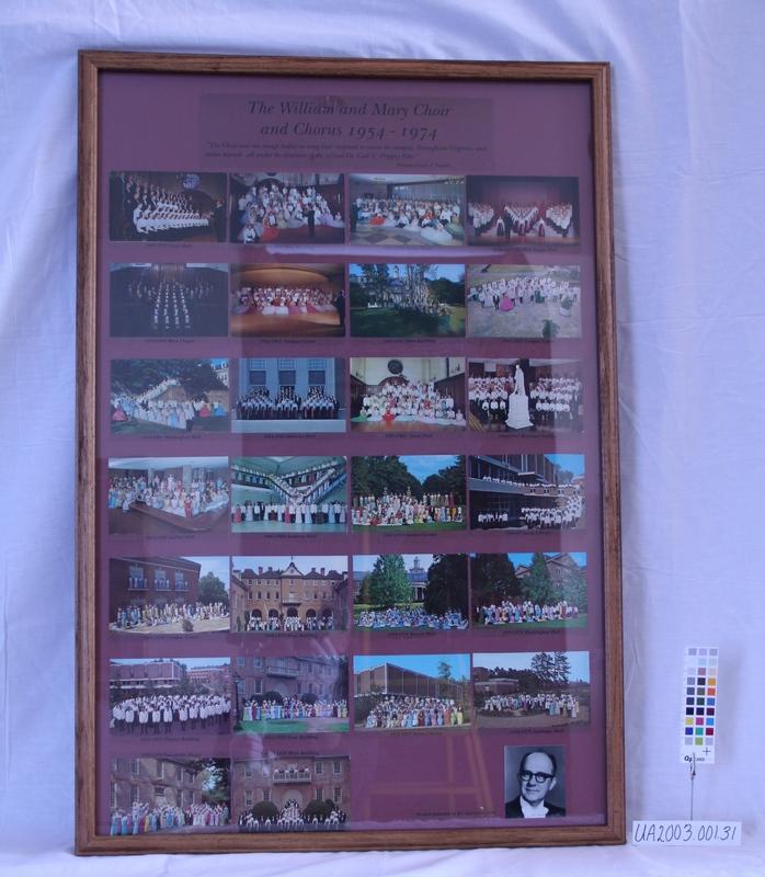 Framed Postcards 1954 to 1974