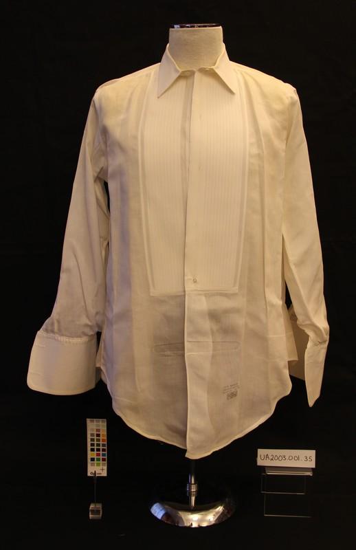 """Carl A. """"Pappy"""" Fehr's Tuxedo Shirt"""