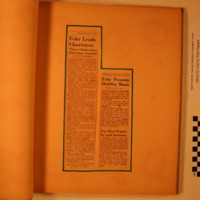 Choir Scrapbook, 1946-1947, Part 2