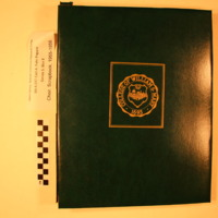 Choir Scrapbook, 1955 - 1956