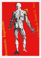 Film poster for <em>Inocencio Izquierdo</em>, a film by Tomás Gutiérrez Alea, designed by Eduardo Marín.