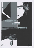 Film poster for <em>El paso de los Muertos,</em>a short film by Arturo Infante, designed by Eduardo <span>Moltó</span>.