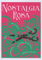 <p>Film poster for <em>Nostalgia Rosa</em>, a film by Enrique Pineda Barnet, designed by NelsonPonce Sánchez.</p>
