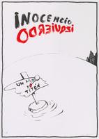 Film poster for <em>Inocencio Izquierdo</em>, a film by Tomás Gutiérrez Alea, designed by <span>José Ángel Toirac</span>.