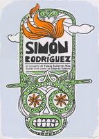 Film poster for <em>Simón Rodríguez</em>, a film by Tomás Gutiérrez Alea, designed by <span>Marwin Sánchez</span>.