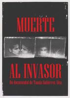 Film poster for Muerte al Invasor,  a film by Tomás Gutiérrez Alea, designed by Juan Carlos Alom.