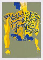 "Film poster for <em>Otra tumba para Leroy</em>, a film by Tomás Gutiérrez Alea, designed by <span class=""st"">Nelson Ponce Sánchez</span>."
